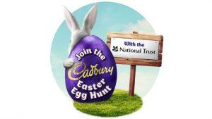 cadbury easter egg hunts surrey