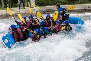white water rafting hertfordshire